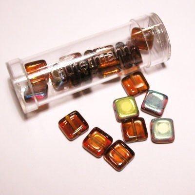 kwadraatparels 8 mm kleur 2046