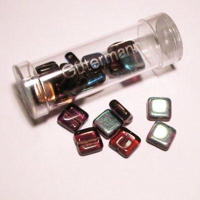 kwadraatparels 8 mm kleur 5505