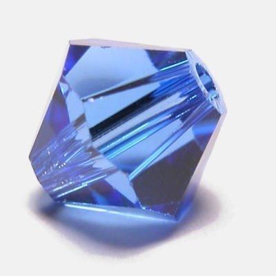 swarovski facet 6mm sapphire