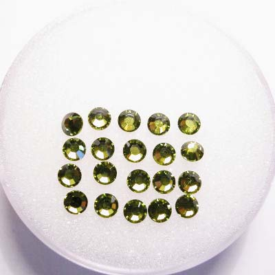 swarovski plaksteen rond olivine 3 mm
