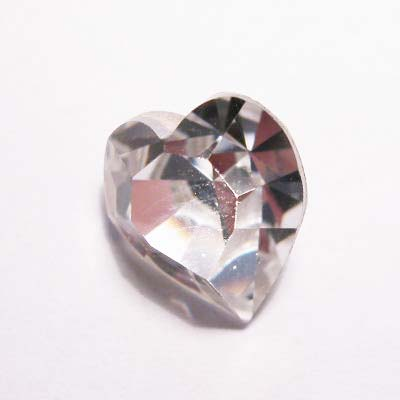 similisteen hart crystal 10x11 mm
