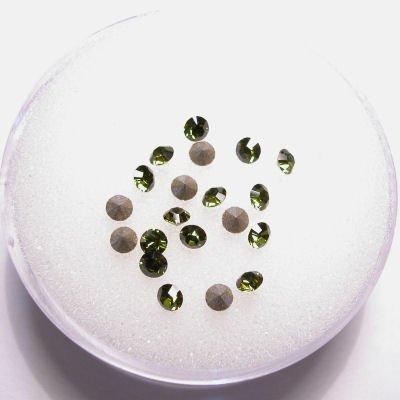 swarovski similisteen rond olivine 2 mm