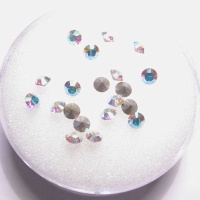 swarovski similisteen rond crystalAB 3 mm