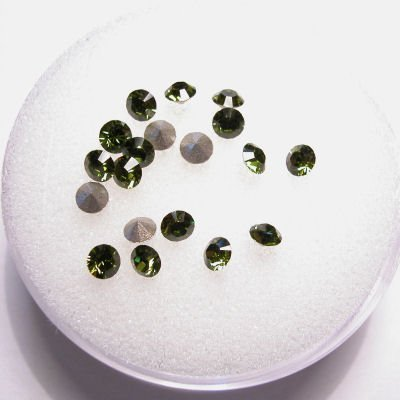 swarovski similisteen rond olivine 3 mm