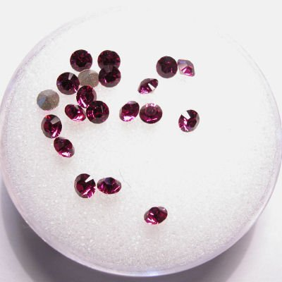 swarovski similisteen rond fuchsia 3 mm