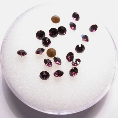 swarovski similisteen rond amethyst 3 mm