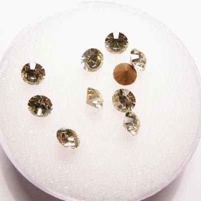 swarovski similisteen rond jonquil 4 mm