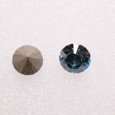 swarovski similisteen rond aquamarine 4 mm