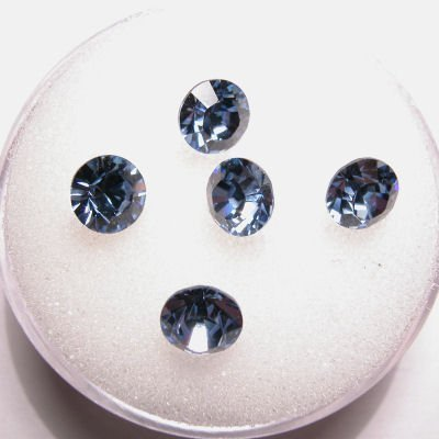 swarovski similisteen rond light sapphire 6 mm