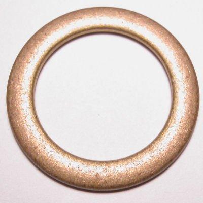 ethnic ring mat goud 35 mm