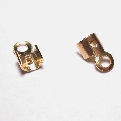veterklemmetje goud 3x3 mm