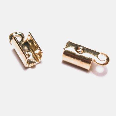 veterklemmetje goud 5x3 mm