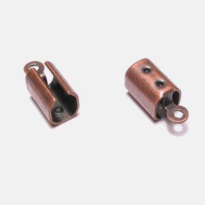 koordklemmetje brons 7x4 mm