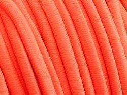 elastisch draad/stiek 3 mm fluor oranje