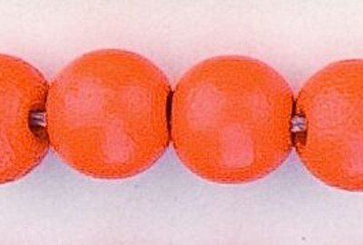 rond orange 10 mm