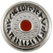 Easy button zwart wit rood