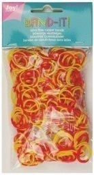 Joy! Band-it! elastiekjes yellow-red