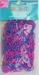 Joy! Band-it! elastiekjes blue-pink