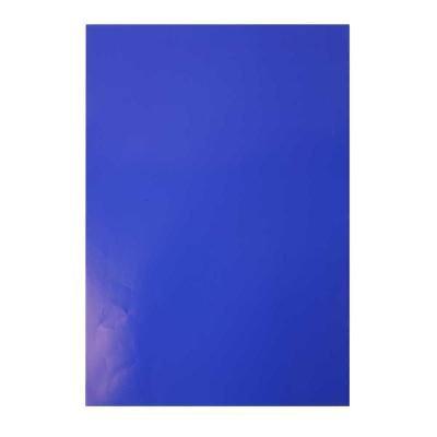 Glanspapier 32x48 cm blauw