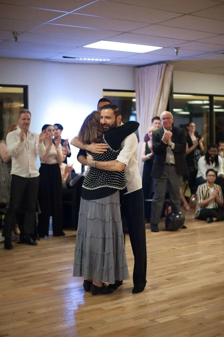 ballroom dance student and Kralev Dance