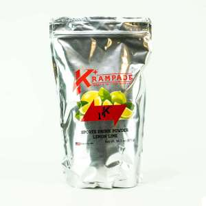 Krampade Original 1K lemon lime flavor, 19 serving resealable pouch, 1000 mg of potassium per serving, designed for elderly and nighttime leg and foot cramps