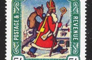 Krampus and Santa