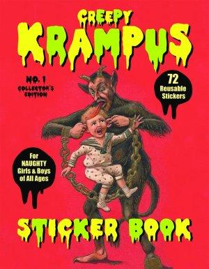 Krapmus Sticker Book