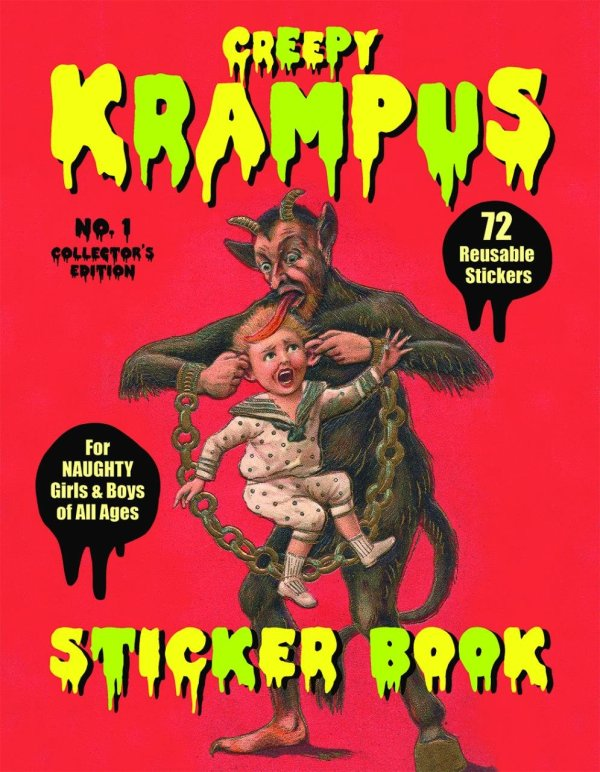 Krapmus Sticker Book