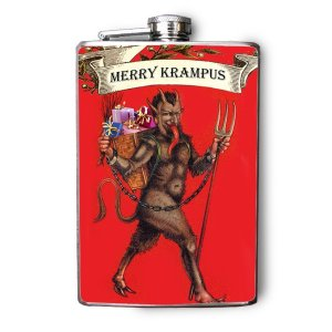Krampus Flasks