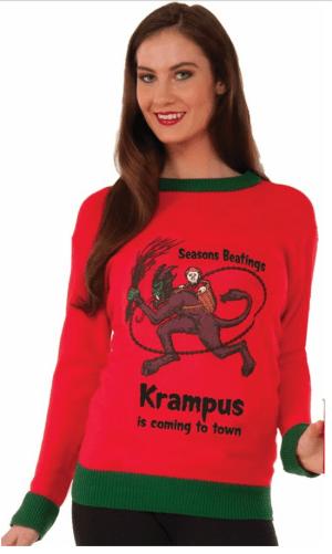 Krampus Is Coming Sweater