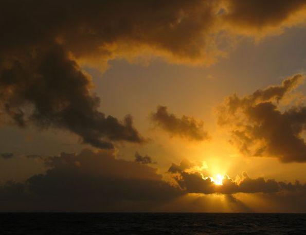 Západy slunce uměly být divukrásné.