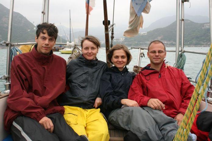 Ondra, Míša, Jana a Petr.