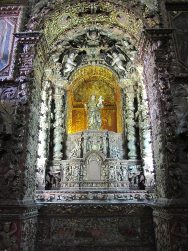 Zlatý oltář.