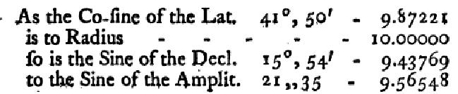 Obr. 15: Příklad výpočtu amplitudy z [5].