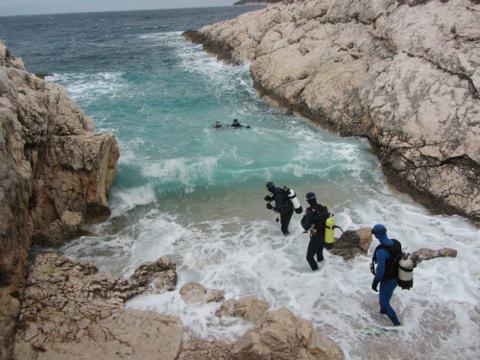 Potápění je zde krásný zážitek.