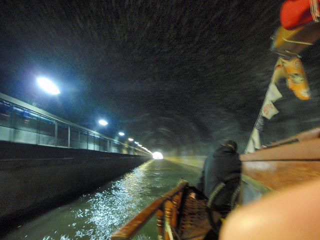Plavba po kanále Canal Laterar a la Marne.