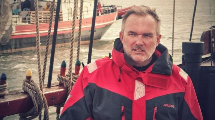 Jirka, duše celého podniku a zakladatel Sailing Clubu