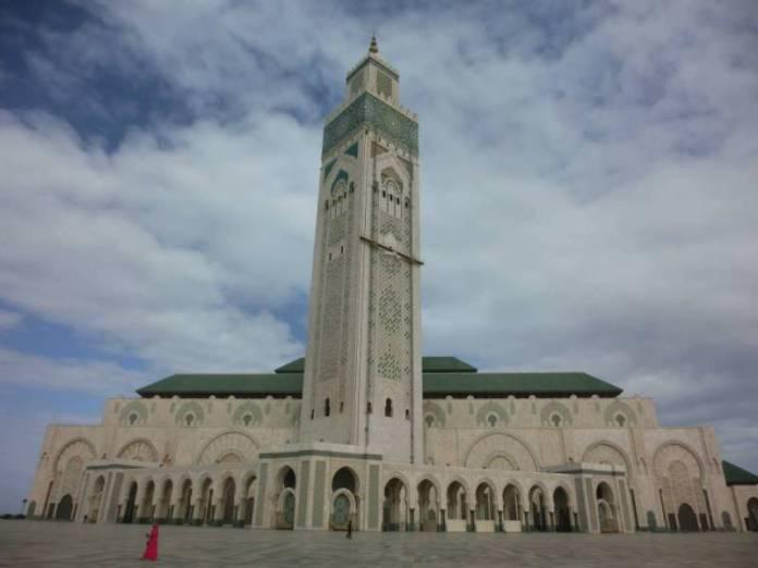 Druhá největší mešina na světě v Casablance.