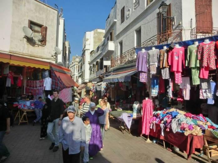Arabské tržiště.