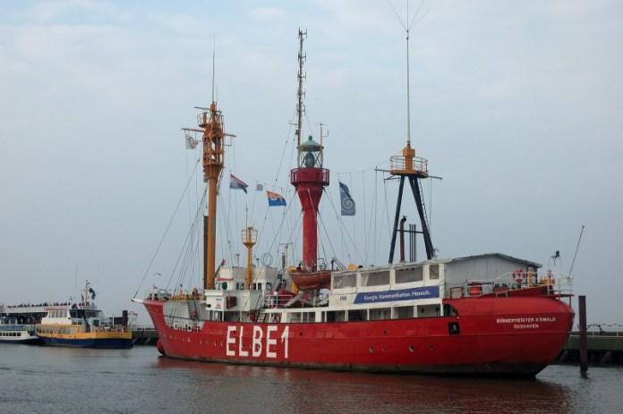Legendární majáková loď ELBE 1 přežila 50 kolizí s jinými plavidly.