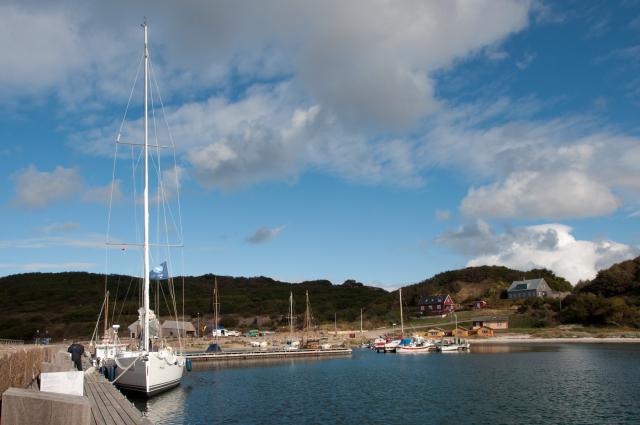 Hammershus marina.