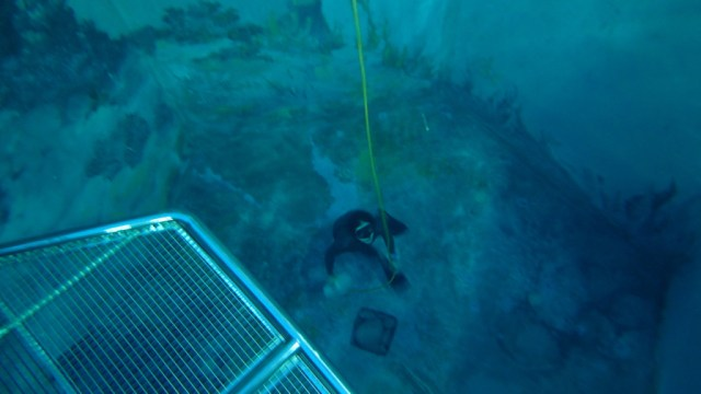 Dno potápěčské jámy