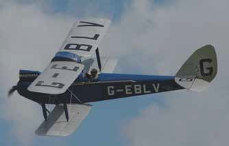 Chichestrův Havilland Gipsy Moth.
