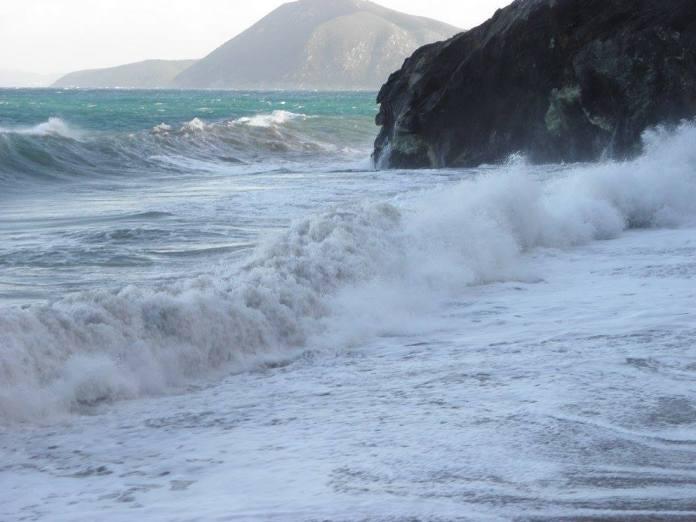 Vlny na pláži