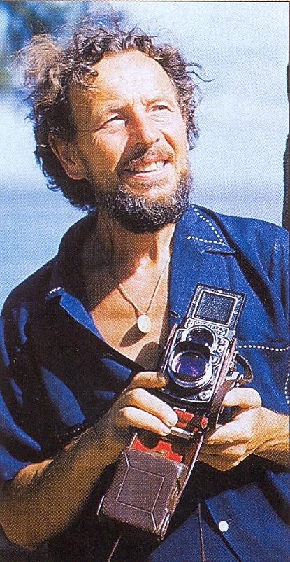 Eduard Ingriš s foťákem