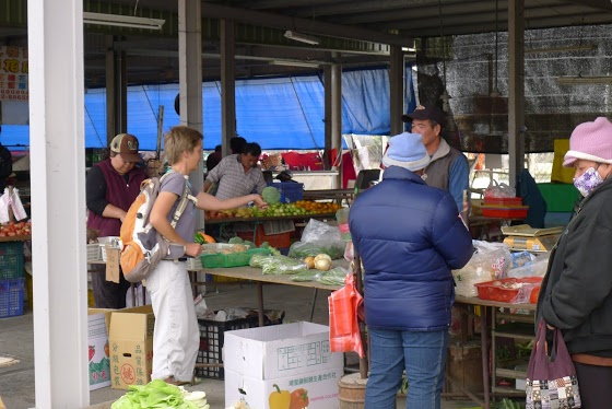 Na trhu v Čchie-tingu