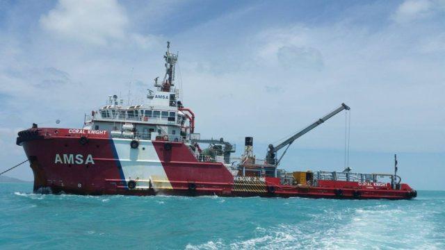 Záchranářská loď Coral Knight