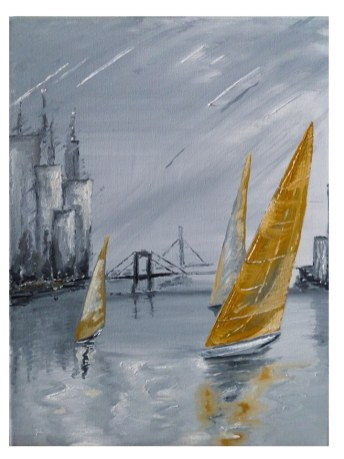 olej na plátně 30x40