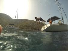 Láďa skáče svůj proslulý skok