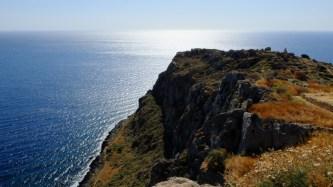 Na vrcholu monemvasijske skály